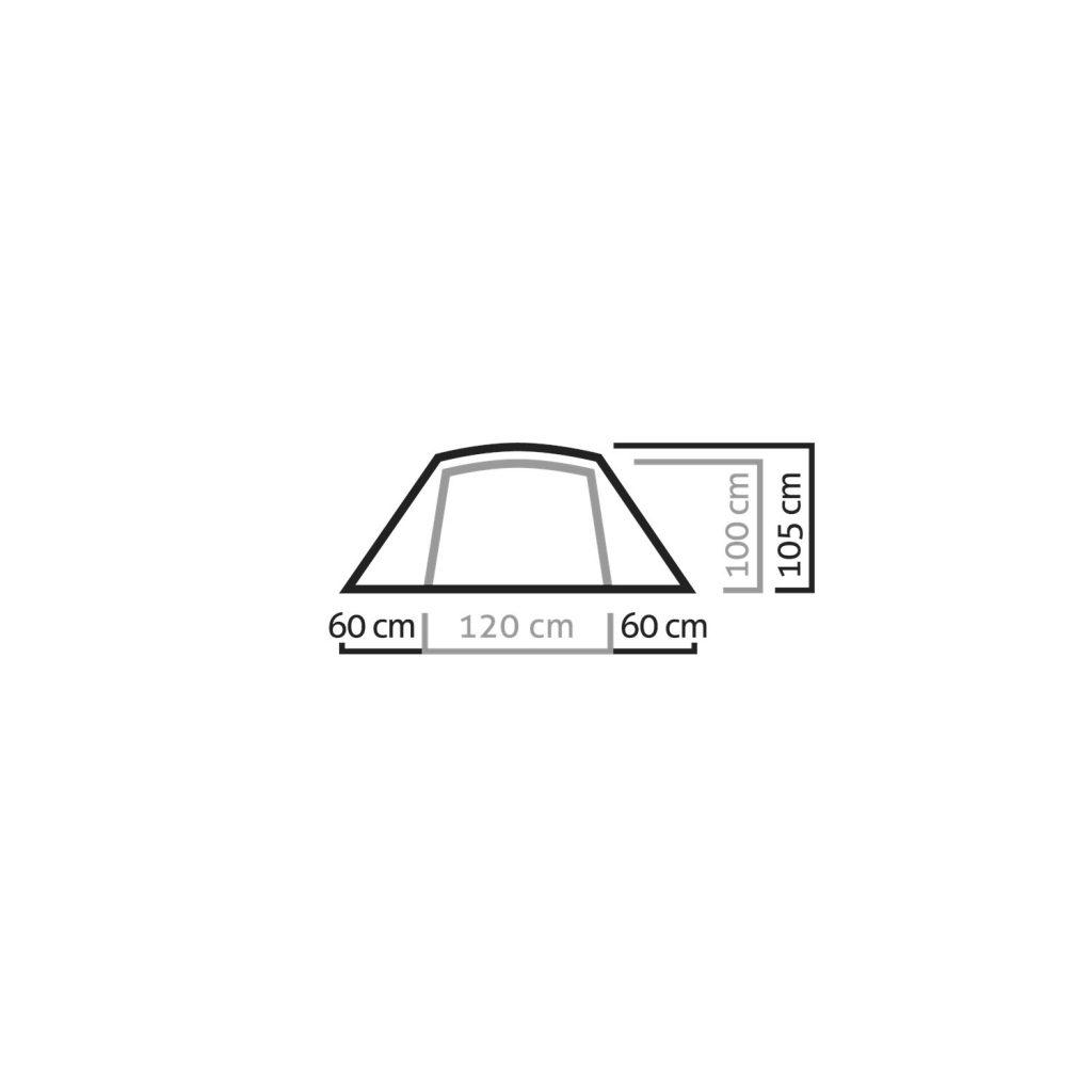 مشخصات چادر کوهنوردی سالیوا مدل دنالی