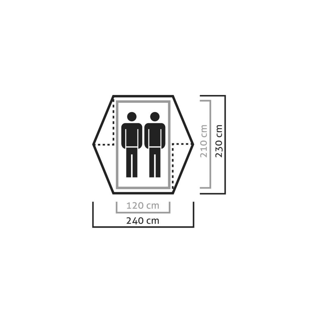 مشخصات چادر کوهنوردی سالیوا مدل دنالی 2