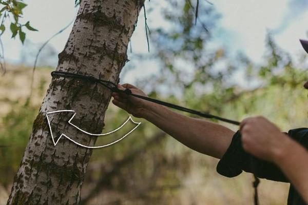 راهنمای بستن ننو به درخت