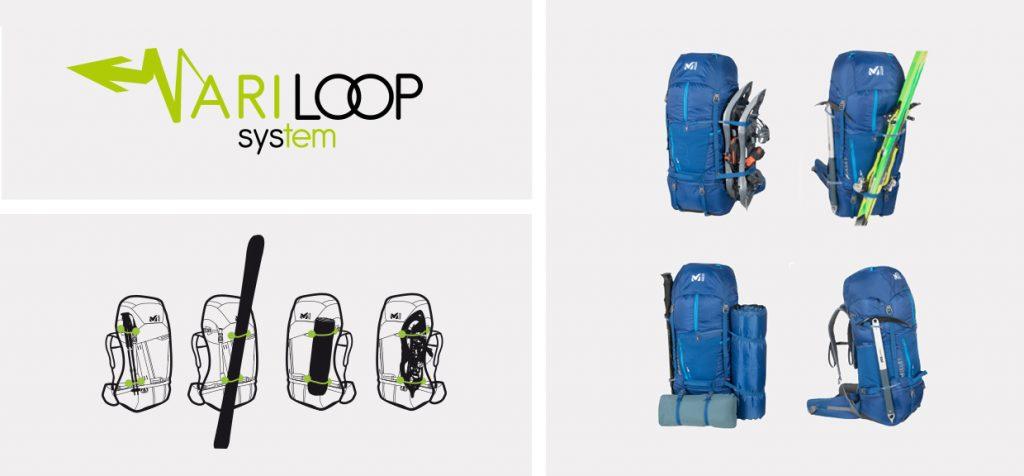 سیستم Varilopp کوله پشتی میلت مدل یوبیک ubic