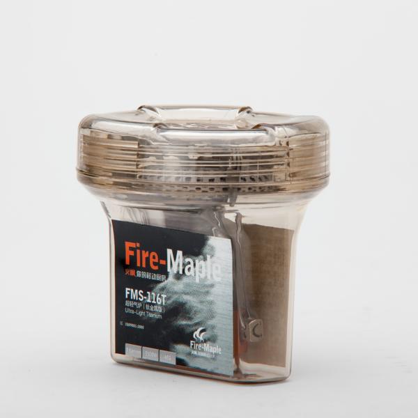 سرشعله فایرمپل مدل FMS-116T با بدنه تیتانیوم