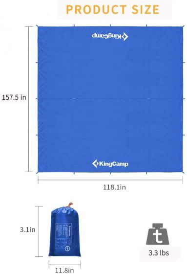 مشخصات تارپ KINGCAMP