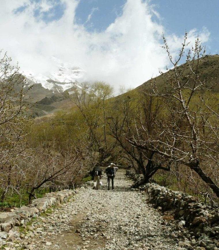 روستای افجه جای کمپ نزدیک تهران