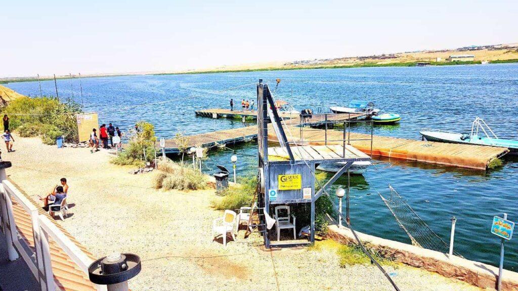 دریاچه فشافویه تهران مناسب تفریحات آخر هفته