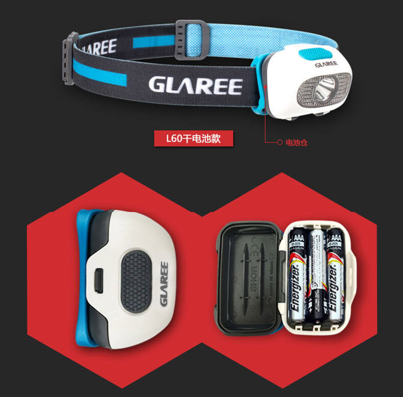 چراغ پیشانی گلاری Glaree Headlamp L60L