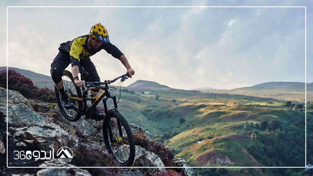 مسیر دوچرخه سواری کوهستان در تهران