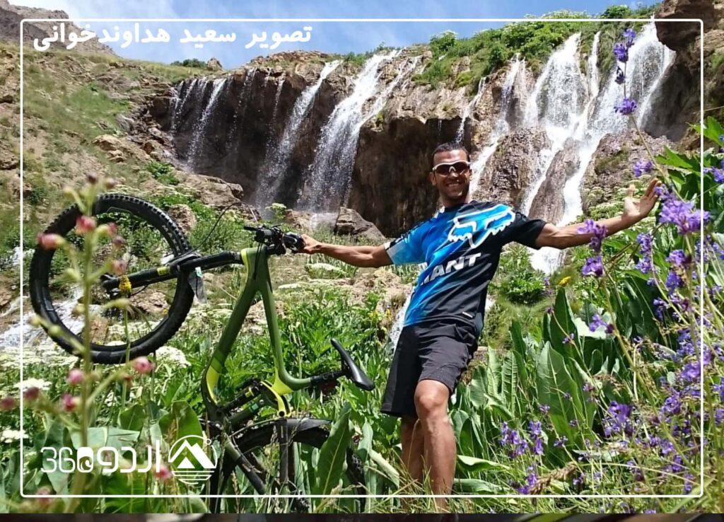 دوچرخه سواری دشت لار تهران کوهستان کانتری