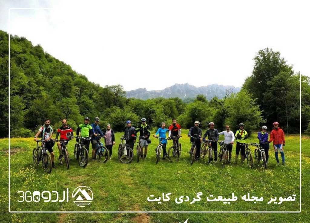 دوچرخه سواری المستان جنگلی آفرود