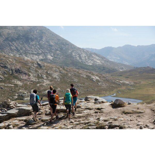 طبیعت گردی با عصای کوهنوردی