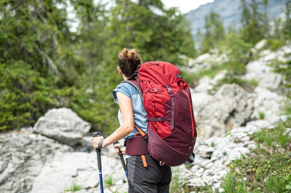 کوله پشتی کوهنوردی جذاب زنانه